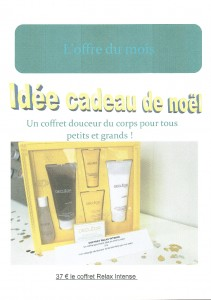 COFFRET NOEL CORPS