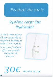 Lait hydratant Decléor aroma confort