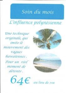 influence polynésienne Institut reze