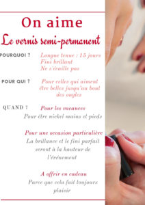 on aime vernis semi permanent